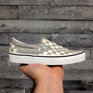 Vans Classic Slip On Checkerboard Women's Shoes